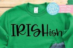Irishish St. Patrick's Day SVG DXF EPS PNG Cut File Product Image 1