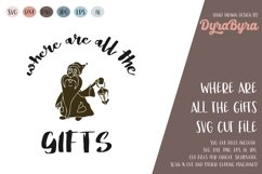 Where are all the Gifts SVG / Gnome SVG / Christmas SVG Product Image 1
