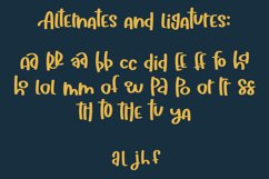 Hallelujah a Hand Lettered Font Product Image 4
