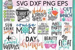 Big Summer Bundle of 22 SVG DXF PNG EPS Cutting Files #1 Product Image 2