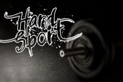 Balistroke Font Product Image 5
