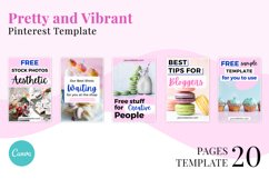 Pretty and Vibrant Pinterest Template Product Image 3