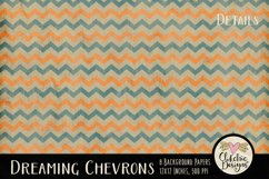 Dreaming Chevron Beachy Background Textures Product Image 4