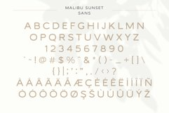 Malibu Sunset - A Beautiful Font Duo Product Image 6