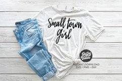 Small Town Girl SVG|PNG|DXF Product Image 1