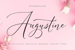 Augustine | Modern Script Font Product Image 1