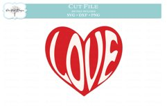 Love in a Heart Valentine Product Image 2