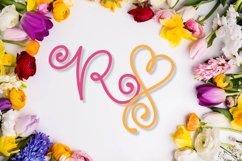 Swirly Monogram - With Swooshy Monoline Extras Product Image 6