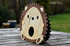 Hedgehog Easter egg holder design SVG / DXF / EPS Product Image 4