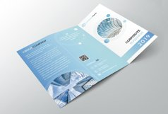 Corporate Trifold Brochure Product Image 2