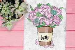 Peonies and Succulents Product Image 2