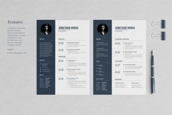 Jonathan Resume with Cover Letter Professional Template Product Image 2