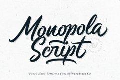 Monopola Script Product Image 1