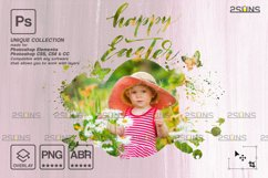 Easter Watercolor overlay & Photoshop overlay Product Image 6