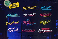 Endless Sunrise - A Sun-kissed 80s Inspired Script Font Duo Product Image 5