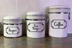 Pantry Labels SVG Bundle - 40 Kitchen Labels Product Image 2