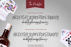 The Rockstar Font Duo Product Image 4