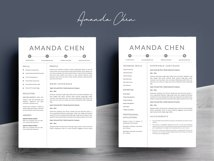Clean Professional Resume Template Word Product Image 4