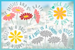 Daisy SVG| Be A Daisy Quote SVG Product Image 3