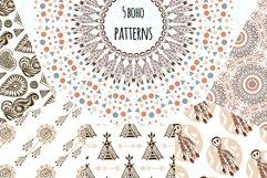 Boho Vector Patterns Product Image 1