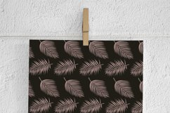 Brown & Gold Palm Leaf Patterns Product Image 2