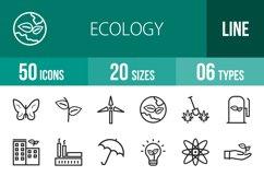 50 Ecology Line Icons Product Image 1