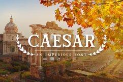 Caesar Font Product Image 1