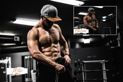 12 Photoshop Actions, ACR, LUT Presets Fitness Pro Product Image 5