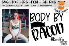 Body By Bacon Keto Diet SVG Product Image 1
