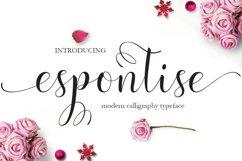 Espontise Script Product Image 1