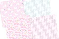 Unicorn Summer Digital Paper Product Image 2