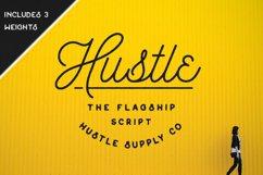 Hustle Script - Monoline Product Image 1