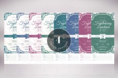 Vintage Luncheon Ticket Template Product Image 5
