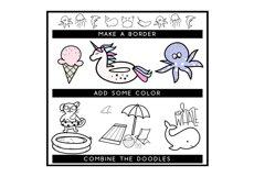 Summer Break / Summer Doodle Font  Product Image 6