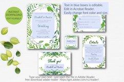 Botannical Wedding Invitation Suite Product Image 2
