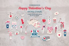 Valentine's Day stickers set Product Image 1