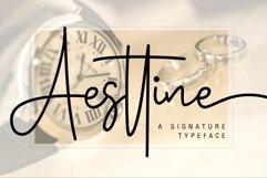 Web Font Aesttine Product Image 1