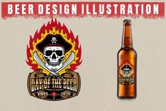 vector beer design illustration Product Image 3