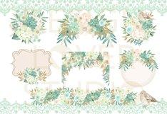 Watercolor MINT DREAMS design Product Image 2