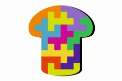 Educational jigsaw puzzle for children, Puzzle svg file Product Image 5