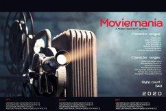 Moviemania - Sans Serif font Family Product Image 3