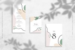 Abstract Artist Wedding Invitation Suite Product Image 4
