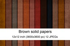 Brown solid digital papers Product Image 1