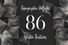86 Topographic Maps Vector Bundle Product Image 1