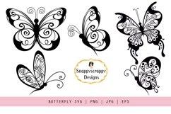 SVG Bundle Unicorn, Butterflies, Trees, Shoes Product Image 2