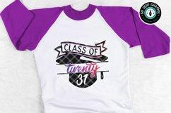 Class of 2031 Graduation Cap SVG Cut File Product Image 1