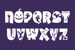 Halloween Party - A Silhouette Display Font Product Image 3