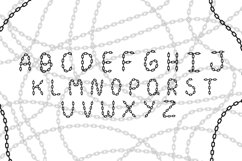 Chain Font Product Image 2