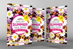 Summer Sales Flyer Template Product Image 3