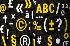 Flat Brush Font Product Image 6